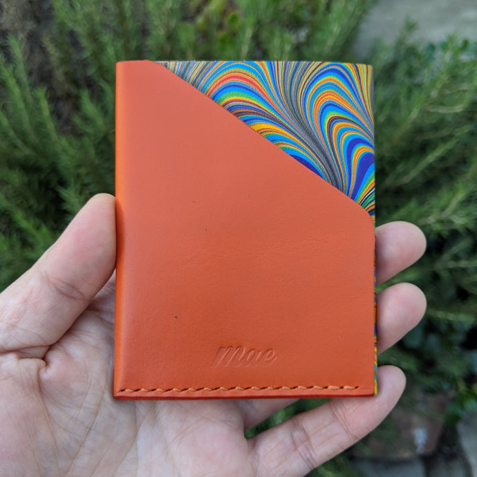 Minimalist Marbled Pocket Wallet