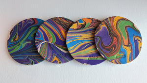 Marbled Coasters