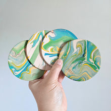 Load image into Gallery viewer, Marbled Coasters