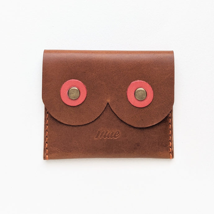 Body Love Coin Purse in Whiskey