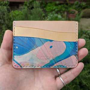 Marble Dyed Card Case
