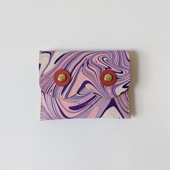 Marbled Body Love Coin Purse