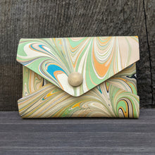 Load image into Gallery viewer, Marbled Envelope Wallet