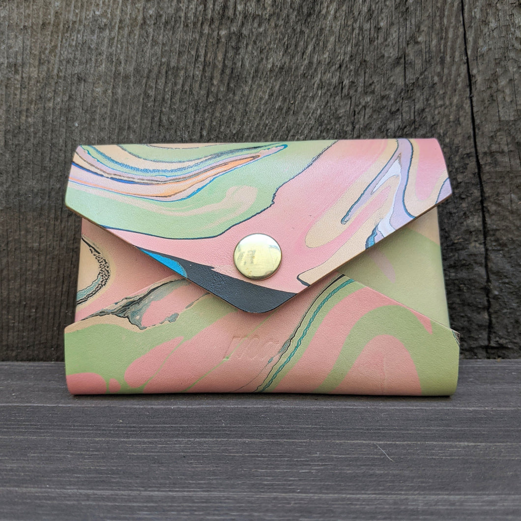 Marbled Envelope Wallet