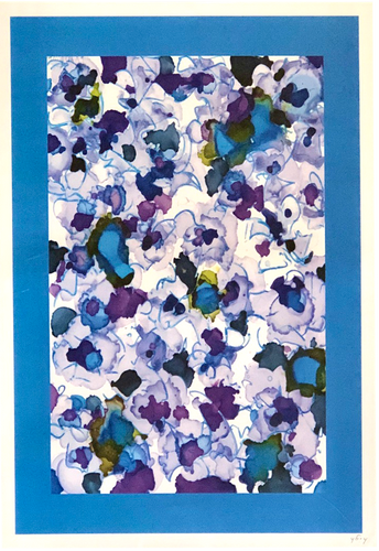 'Blueberries,' 13x19 Print
