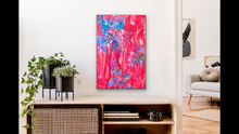 Load image into Gallery viewer, 'Bursting' 24x36 Abstract Painting