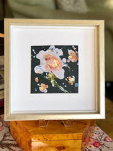 Load image into Gallery viewer, Peach Flower Leatherette