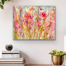 Load image into Gallery viewer, 'Phlox' 24 x 20 Abstract Painting