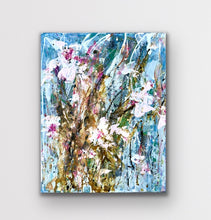 Load image into Gallery viewer, 'Tulip Party I' 16 x 20 Abstract Painting