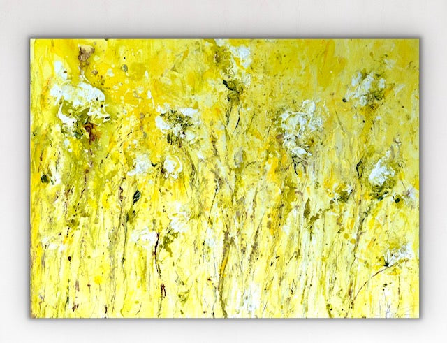 'Windswept' 48 x 36 Abstract Painting
