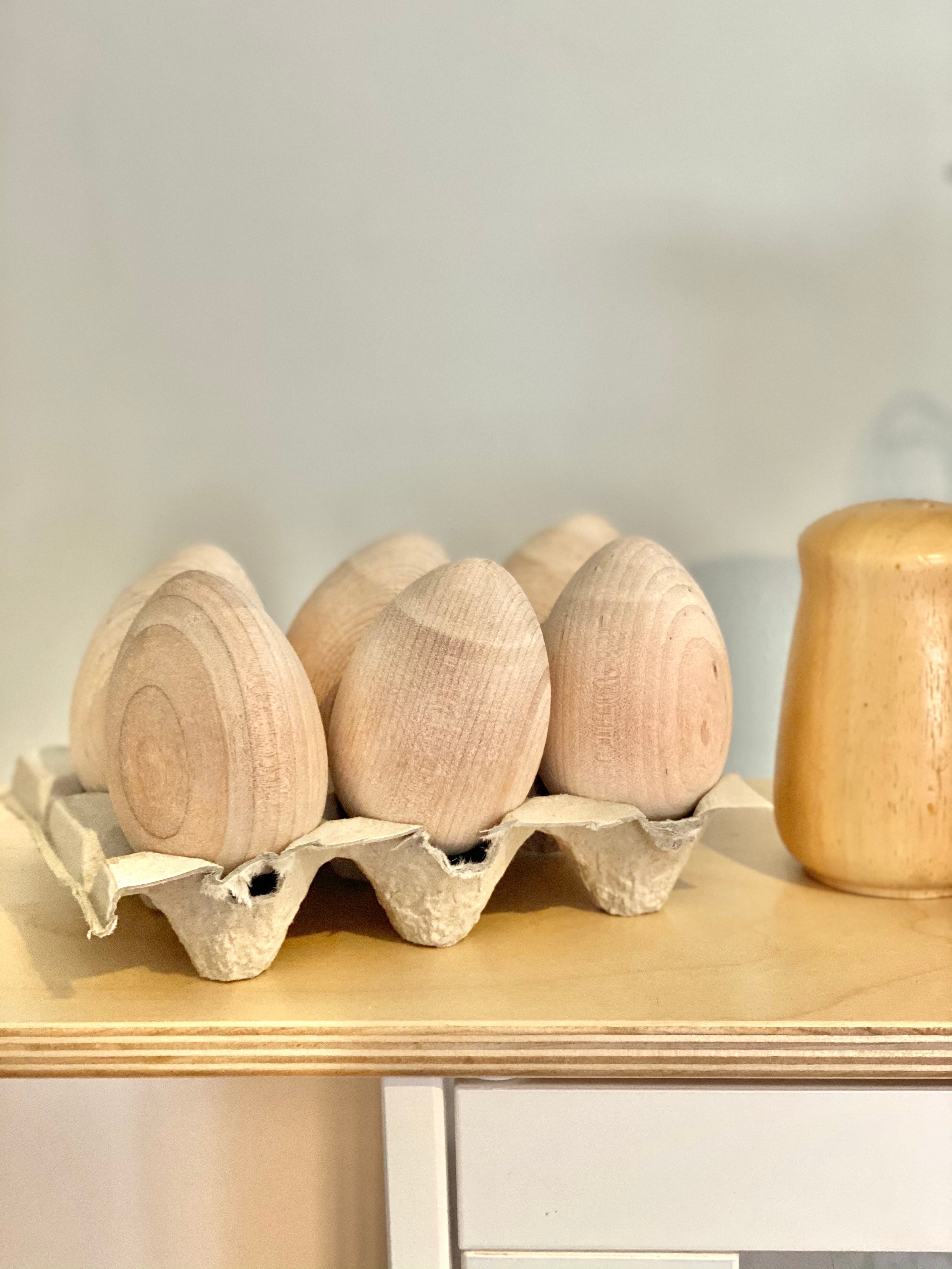 A Half Dozen Natural Wood (6)