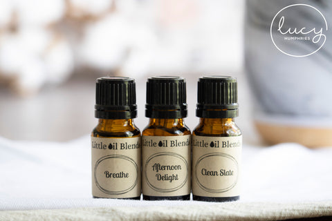 Little Oil Blends Product Photography