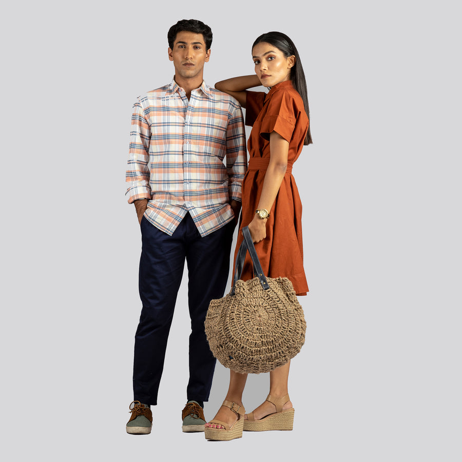 Carry-it-all Round Bag - Itihasikala