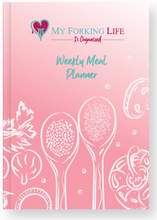 Load image into Gallery viewer, My Forking Life is Organized Weekly Meal Planner