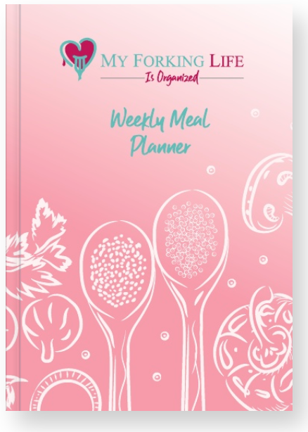 My Forking Life is Organized Weekly Meal Planner