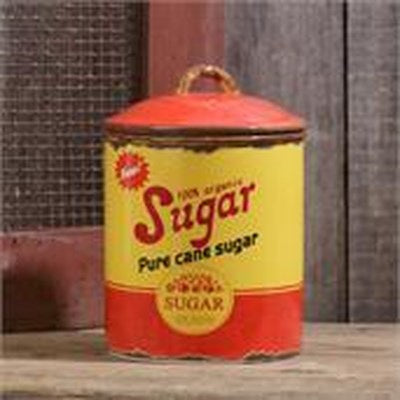 Retro Ceramic - Sugar Canister