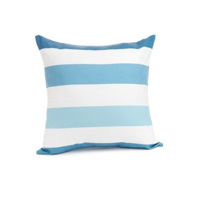 Blue Stipe Cushion