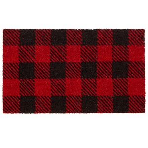 Buffalo Plaid Doormat 30 x 18