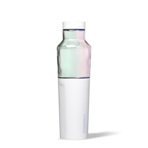 CORKCICLE HYBRID CANTEEN - 20OZ PRISM WHITE