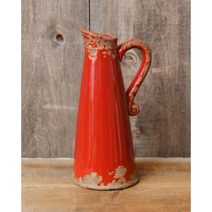 Pottery - Pitcher Red