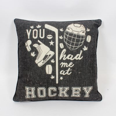 Cushion - You Had Me at Hockey