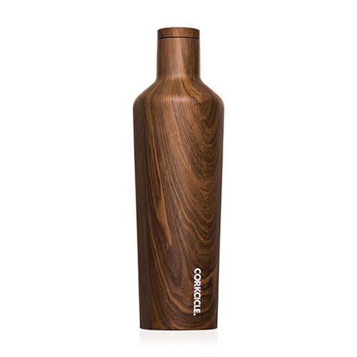 CORKCICLE CANTEEN - 25OZ WALNUT WOOD