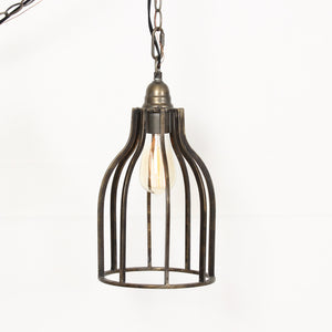 LILIAN 1-LIGHT CYLINDER CAGE PENDANT