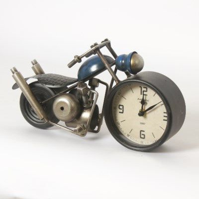 Motorcycle Table Clock