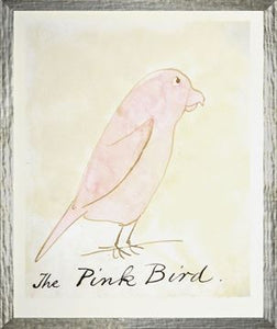 The Pink Bird - Small