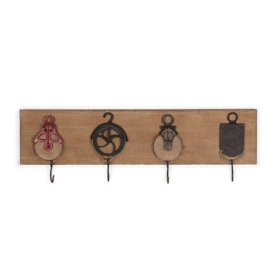 Ship Pulley Wall Decor