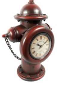 Metal Clock Fire Hydrant