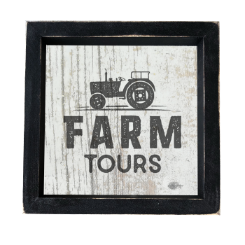 Farm Tours Box Sign