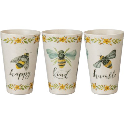 Cup - Bee Happy Kind Humble