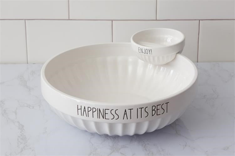Chip And Dip Bowl - Happiness At Its Best