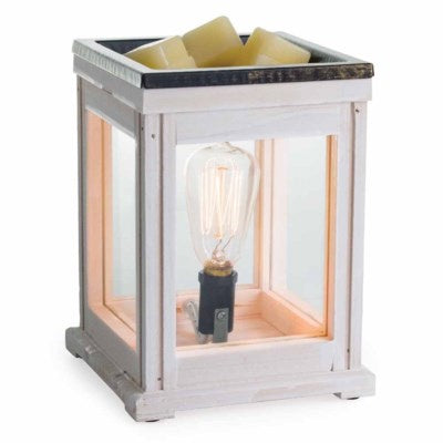 Edison Bulb Fragrance Warmer Weathered Wood