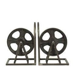 Metal Bookends Set of 2