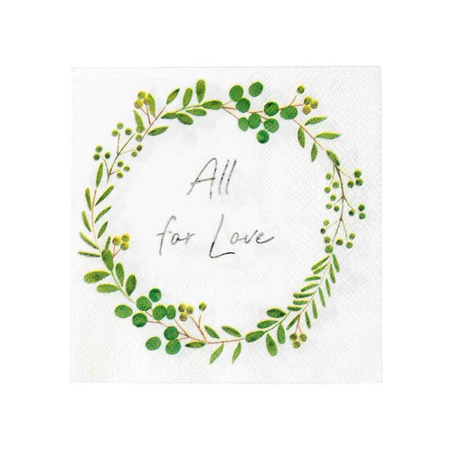 All for Love Napkin Party Talking Tables