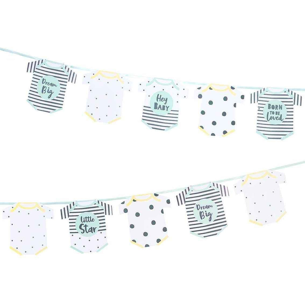 Baby Shower Garland Party Talking Tables