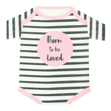 Load image into Gallery viewer, Born to be Loved Romper Napkins Party Talking Tables
