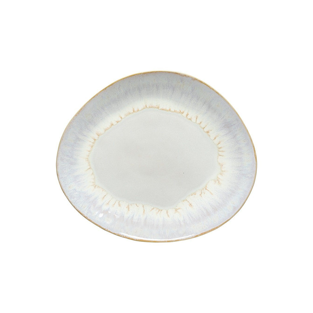 Brisa Salt Oval Dinner Plate Homeware Costa Nova