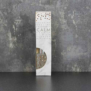 Calm Linen Reed Diffuser Home Fragrance Candlelight