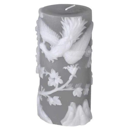 Carved Filigree Candle Homeware Coach House
