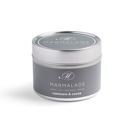 Cashmere and Cocoa Tin Candle Home Fragrance Marmalade