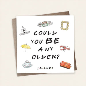 Chandler Friends Birthday Card Stationery Cardology