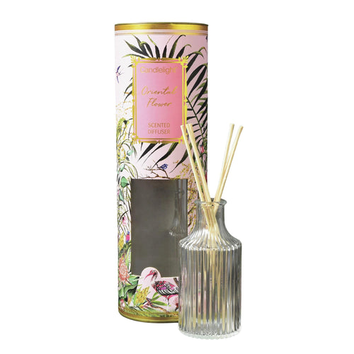 Chinoiserie Oriental Flower Diffuser Home Fragrance Candlelight