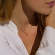 Load image into Gallery viewer, Citrine Signature Cord necklace Jewellery Wanderlust Life