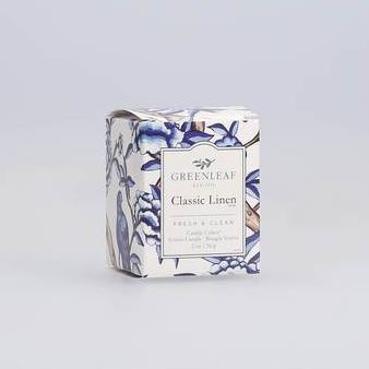Classic Linen Mini Candle Home Fragrance Heart of the Country