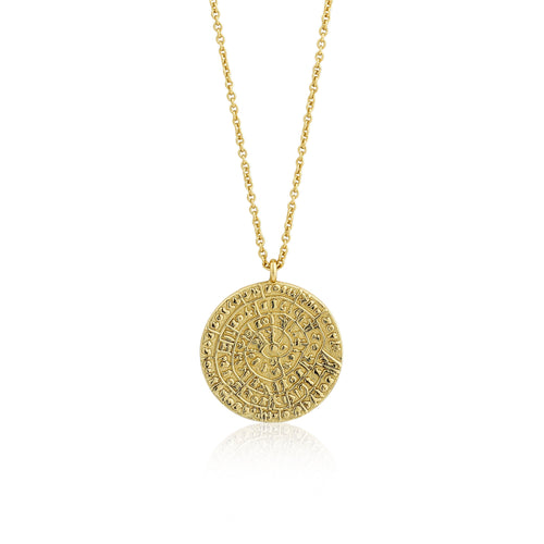Coins Gold Minoan Necklace Jewellery Ania Haie