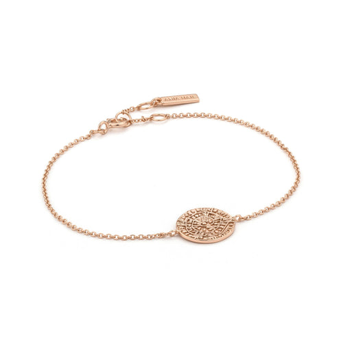 Coins Rose Gold Minoan Bracelet Jewellery Ania Haie