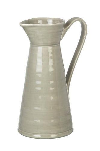 Colne Ceramic Beige Pitcher Homeware Parlane